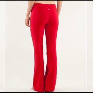 Lululemon Red Groove pant